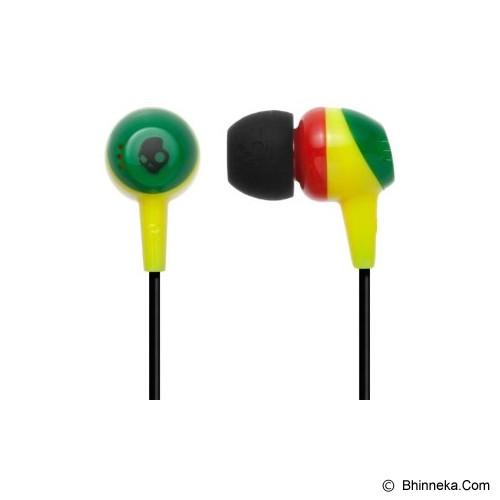SKULLCANDY Jib In-Ear [S2DUDZ-058] - Rasta - Earphone Ear Bud